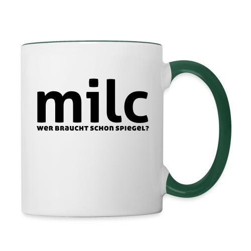milc - Tasse zweifarbig