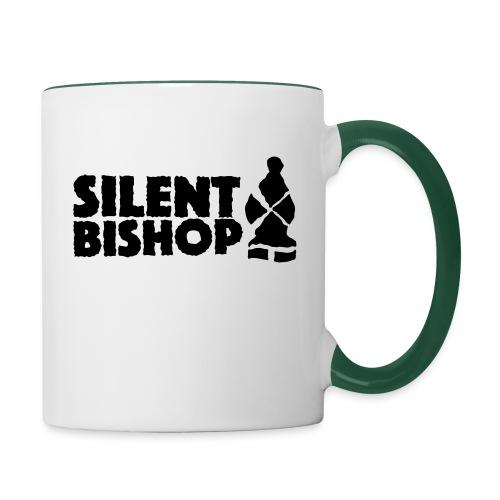Silent Bishop Logo Groot - Mok tweekleurig