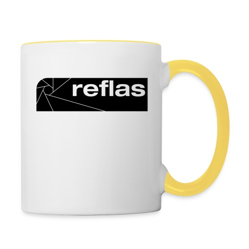Reflas Clothing Black/Gray - Tazze bicolor