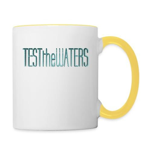 TESTtheWATERS BETA BLUE - Contrasting Mug