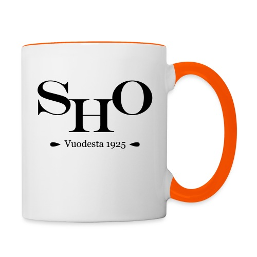 SHO - Kaksivärinen muki