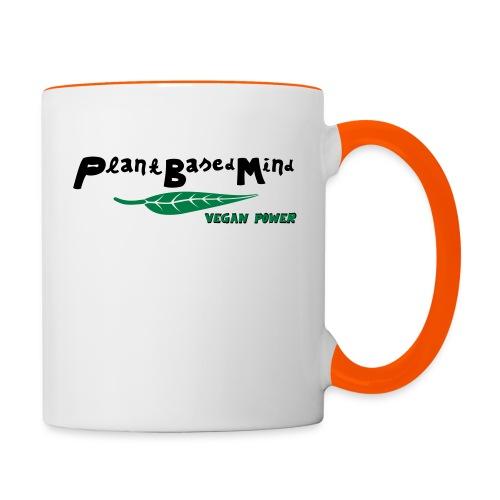 Vegan Power - Tasse zweifarbig