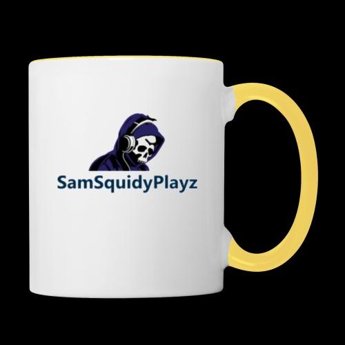 SamSquidyplayz skeleton - Contrasting Mug