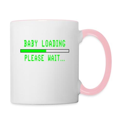 Baby Loading - Kaksivärinen muki