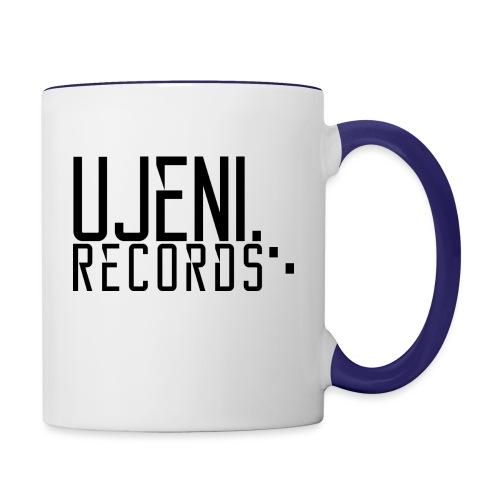 Ujeni Records logo - Contrasting Mug