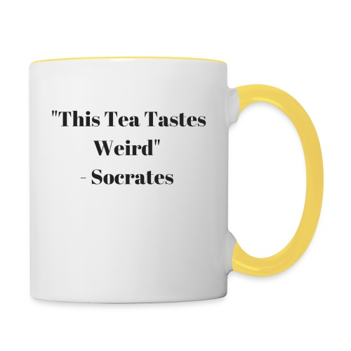 TeaTastesWeird - Contrasting Mug