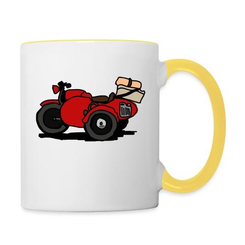 side rouge - Mug contrasté