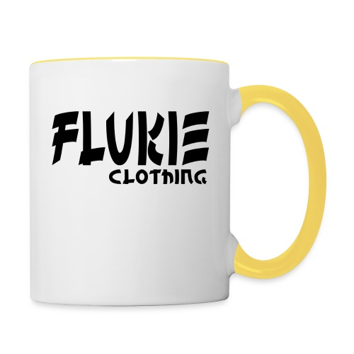 Flukie Clothing Japan Sharp Style - Contrasting Mug