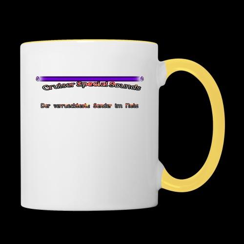 cssder - Tasse zweifarbig