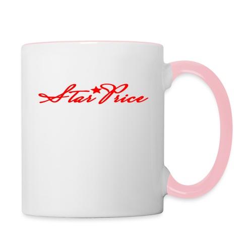 star price (red) - Contrasting Mug
