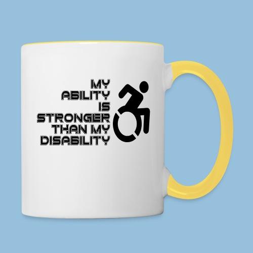 Ability1 - Mok tweekleurig