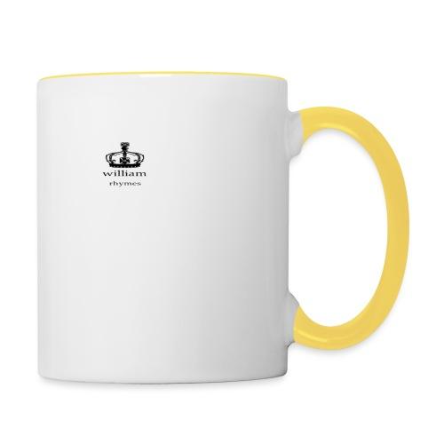 william - Contrasting Mug