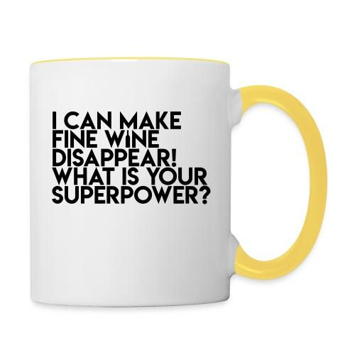 superpower - Tofarvet krus