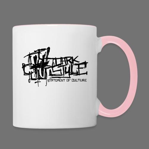 Tumma Style - Statement of Culture (musta) - Kaksivärinen muki