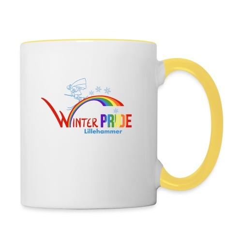 Winterpride - Tofarget kopp