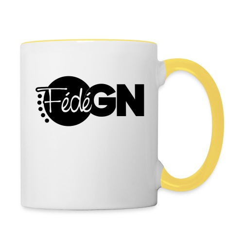 Logo FédéGN pantone - Mug contrasté