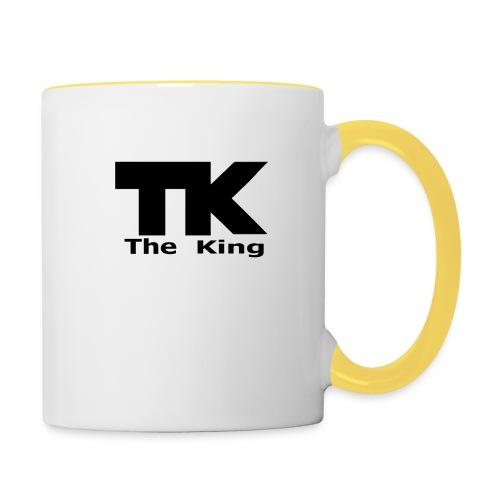 The King med ram - Tvåfärgad mugg