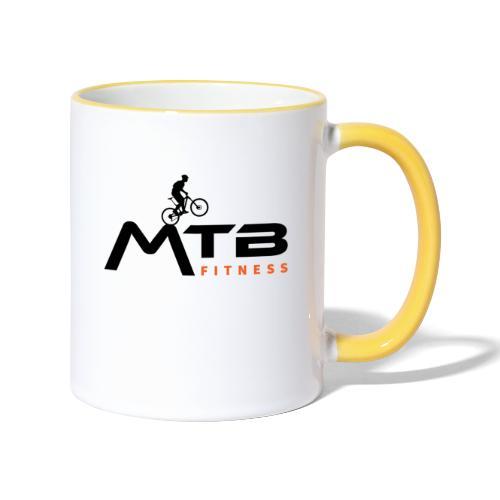 Subtle MTB Fitness - Black Logo - Contrasting Mug