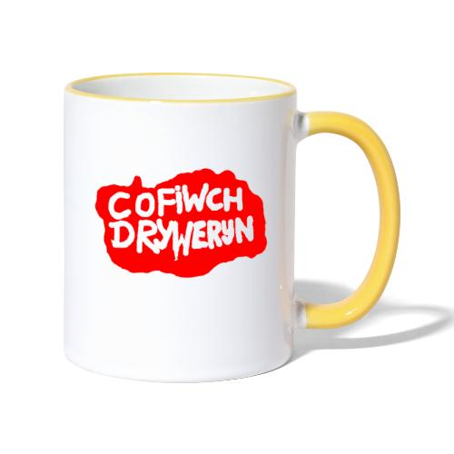 Cofiwch Dryweryn - Contrasting Mug