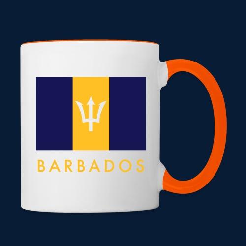 Barbados - Tasse zweifarbig