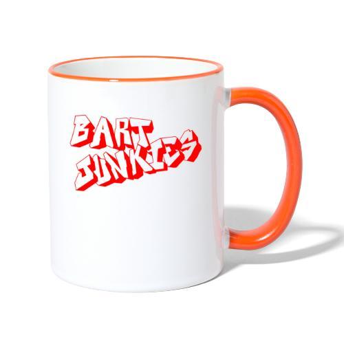 BART JUNKIES-KULT!!!! - Tasse zweifarbig