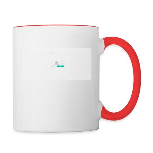 dialog - Contrasting Mug