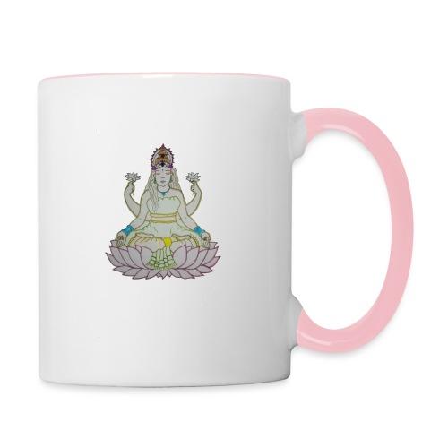 indu - Taza en dos colores