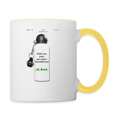 RocksAndSand adventure bottle - Contrasting Mug