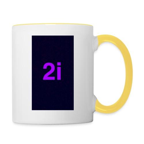 2i - Mug contrasté