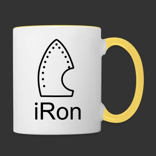 iRon - Tasse zweifarbig