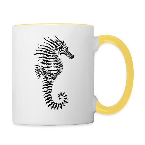 Alien Seahorse Invasion - Contrasting Mug