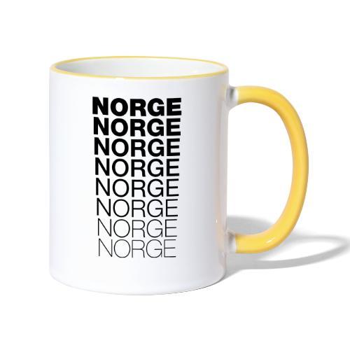 Norge Norge Norge Norge Norge Norge - Tofarget kopp