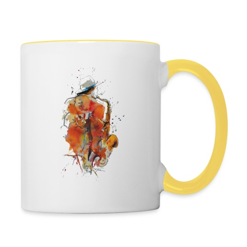 Jazz men - Mug contrasté