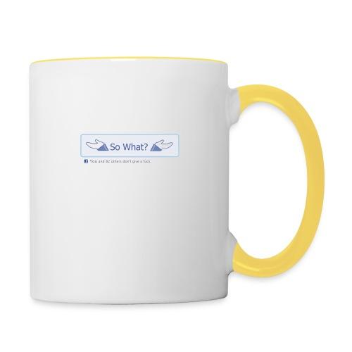 So What? - Contrasting Mug