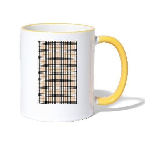 Ternet Designer - Tofarvet krus