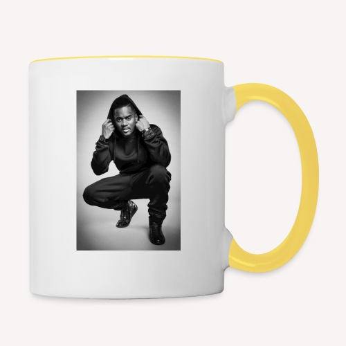 Black M - Mug contrasté