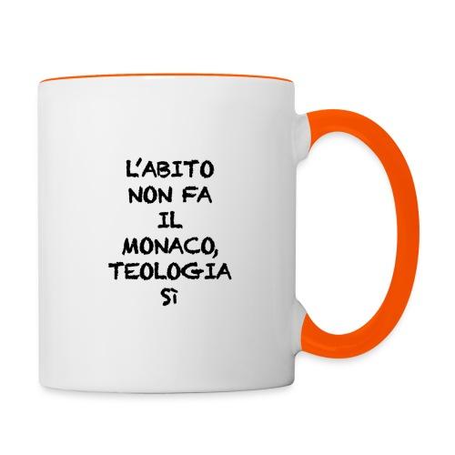 L'ABITO NON FA IL MONACO - Tazze bicolor