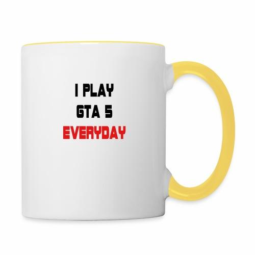 I play GTA 5 Everyday! - Mok tweekleurig