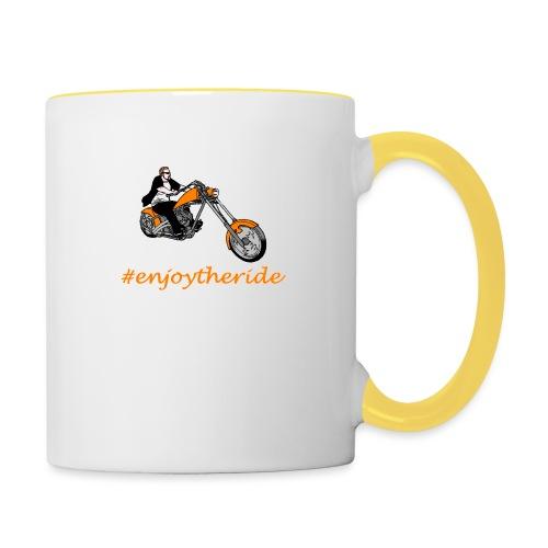 enjoytheride - Mug contrasté