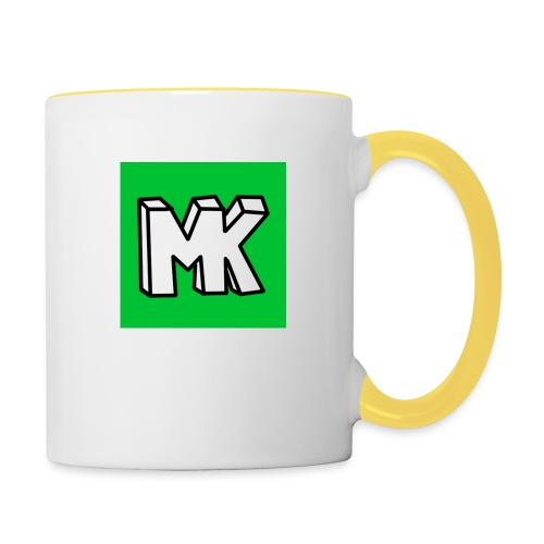 MK - Mok tweekleurig