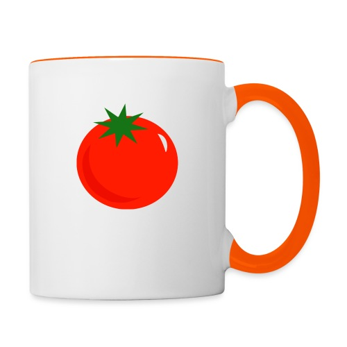 Tomate - Taza en dos colores