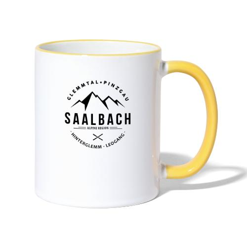 Saalbach Mountain Classic - Mok tweekleurig