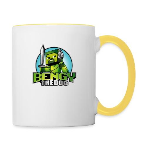 bengy logo - Contrasting Mug