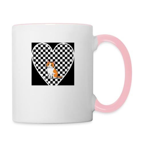 Charlie the Chess Cat - Contrasting Mug
