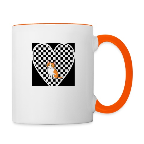 Charlie the Chess Cat - Contrasting Mug