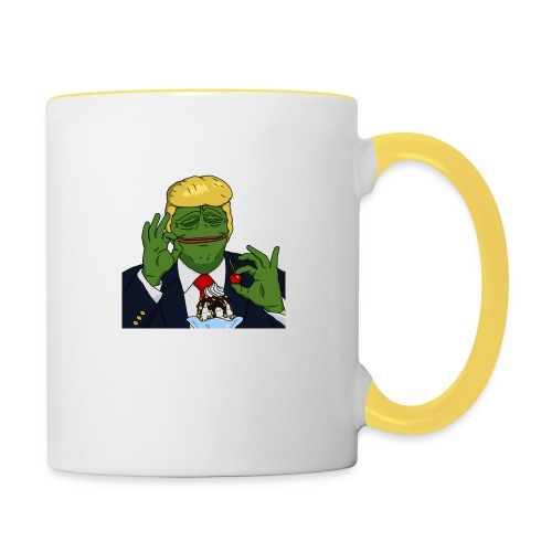 Two Scoops Trump - Contrasting Mug