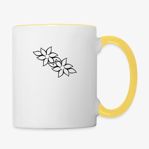 flowers - Tofarvet krus