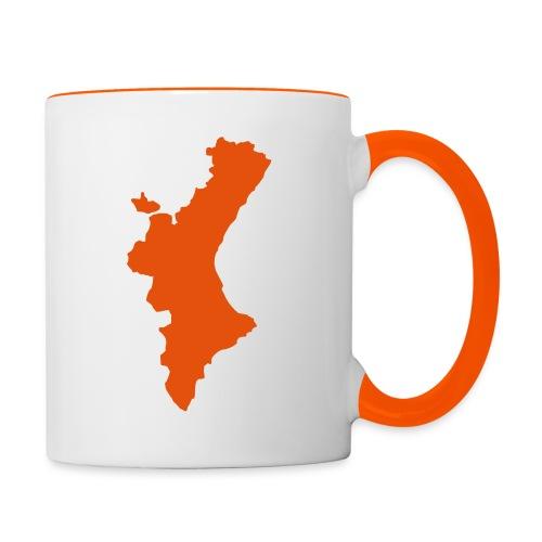 València - Taza en dos colores