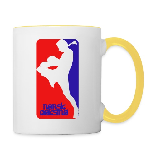 norsk boksing - Contrasting Mug