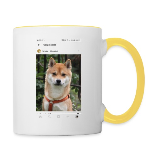 For my sister 💖 (only!) - Tasse zweifarbig